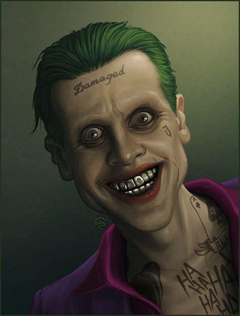 jared leto joker tattoo damaged jared leto s joker by tovmauzer on deviantart