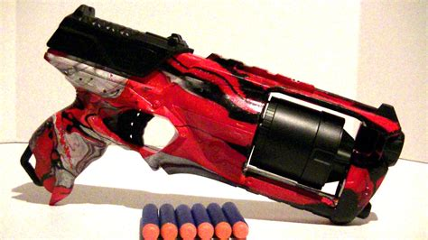 spray paint nerf how to swirl paint a nerf gun strongarm