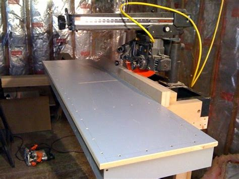 radial arm  table shop ideas radial arm  radial