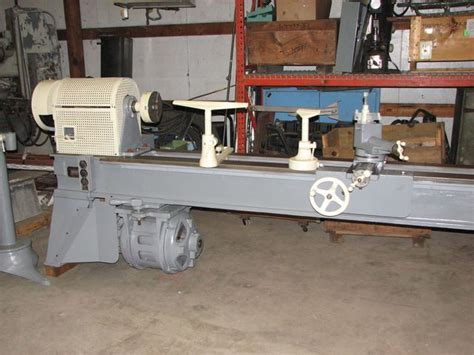 pattern makers wood lathe oliver model 20 c quot pattern maker quot wood lathe 8ft centers