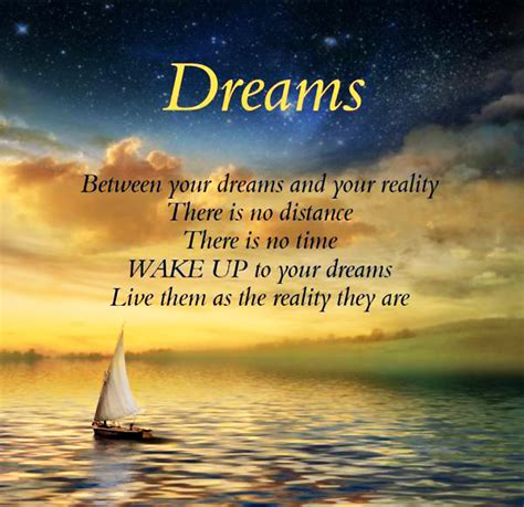 life dream quotes about dreams and reality quotesgram