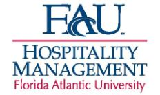 Florida Atlantic Mba Cost by Florida Atlantic Fau Hospitality Tourism
