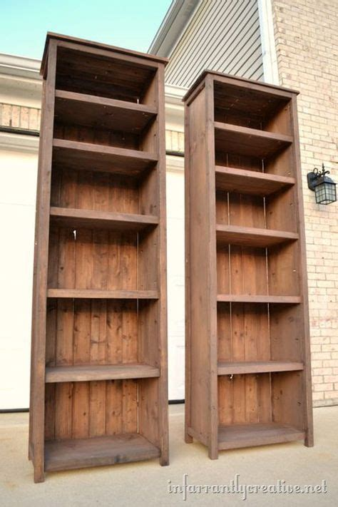 25 best ideas about bookshelves on diy