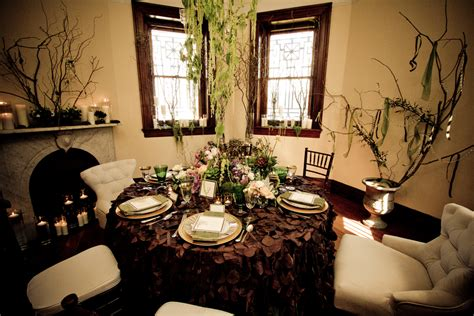 de lovely affair decorating with upscale natural elements