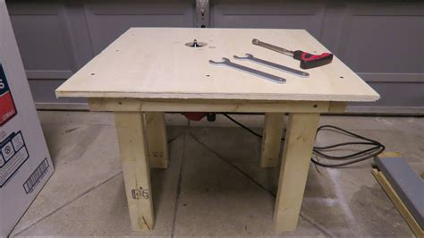build router table     youtube