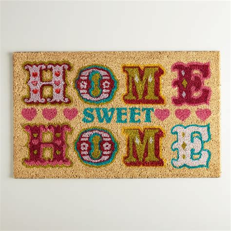 Home Doormat Home Sweet Home Doormat World Market