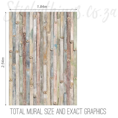 wood wall mural vintage wood mural wooden wallpaper mural stickythings