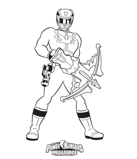 coloring pages of power rangers megaforce power rangers megaforce free coloring pages