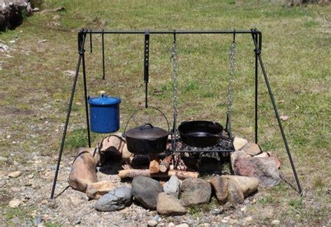 pit cooking tripod pit tripod pit ideas