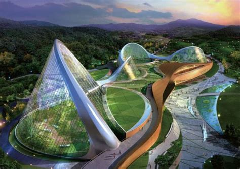 design environment nature south korea unveils stunning eco dome environmental center