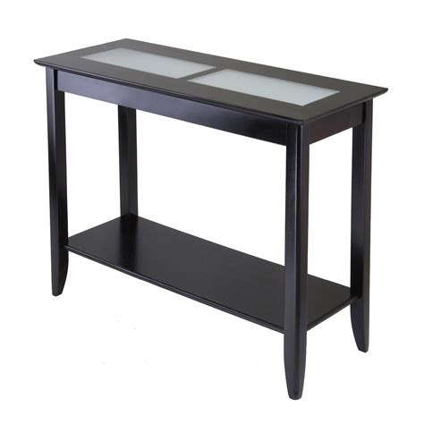 sofa tables canada winsome wood 92240 syrah console sofa table lowe s