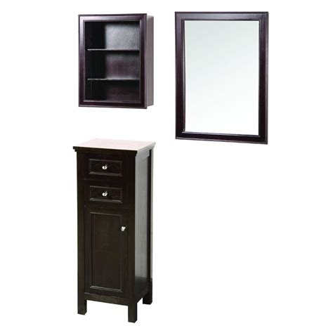 wall cabinets on floor foremost gazette 42 in l x 16 in w wall mirror and wall