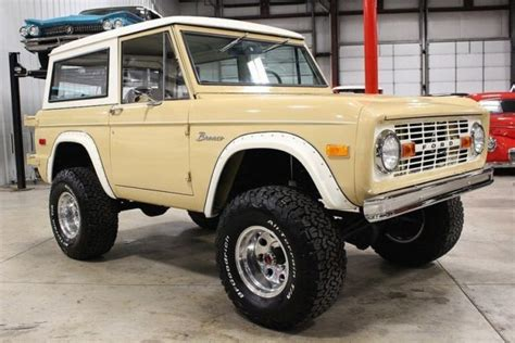 old car manuals online 1996 ford bronco parking system 1972 ford bronco 61325 miles tan suv 302 v8 manual for