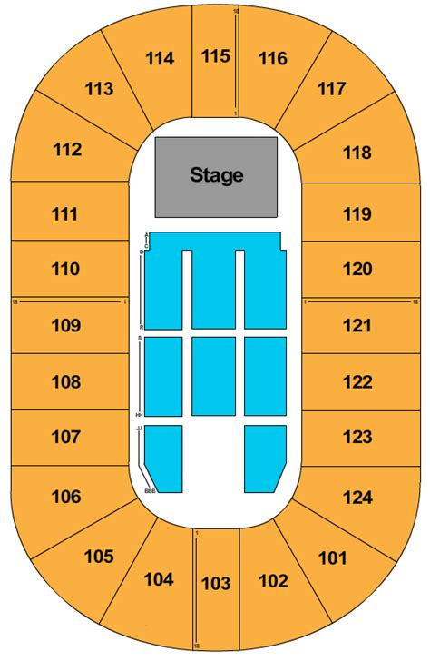 mile  centre seating chart