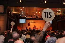 live bid auction keeping my of thought on the right track part 1 of