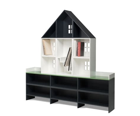 bookshelf doll house customizable modular bookcase that looks like a doll house
