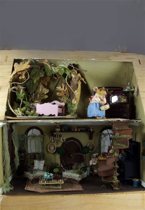 mouse doll house mouse house doll house pinterest