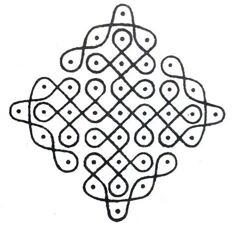 Sikku Kolam Designs ? Art Platter