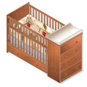 nursery convertible crib full bed woodworking plans
