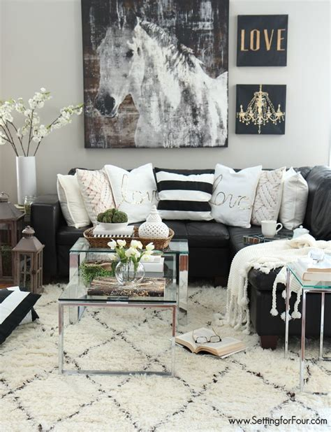 equine home decor 8 ways to successfully pull off a black and white room