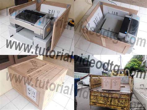 Paket Printer Dtg cara aman mengirim printer dtg kirim paket mesin dtg