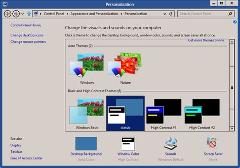 download themes for windows 7 like windows 8 download windows classic theme for windows 8