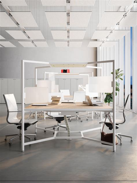 how to fit a desk in a small bedroom hub desks from fantoni architonic