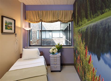 chemotherapy room marin cancer care kimball interior design