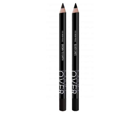 Wardah Eye Brow Pencil Black halal cosmetics singapore makeover eye brow pencil