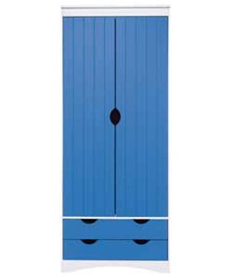 2 door wardrobe blue review compare prices buy