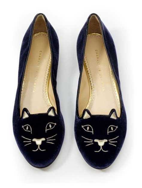 flat shoes with cat nic in disguise diy olympia cat flats