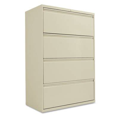 Cheap Lateral File Cabinet Best Cheap 36 Quot Wide Lateral File Cabinets Four Drawer Putty Alela543654py Category Metal