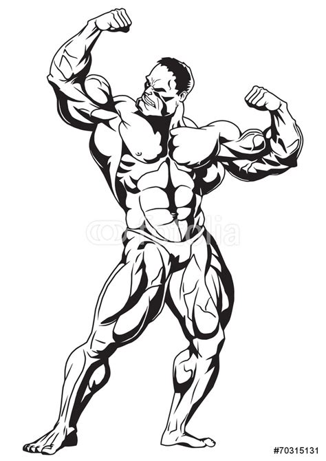 Wall Sticker Design Your Own muscular bodybuilder wall sticker wall stickers