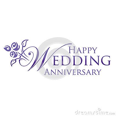 Wedding Anniversary Objects by Happy Wedding Anniversary Stock Image Image 26278681