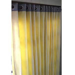 Yellow Grey Curtains Yellow And Grey Curtain Panels 52 Quot X84 Quot Grommet Drapes Home And Living