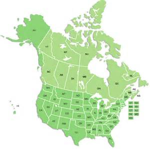 map of usa and canada with states and cities map of usa and canada with states and provinces