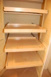 Pull Out Closet Shelves by Linen Closet Pull Out Shelves Closet Organizers