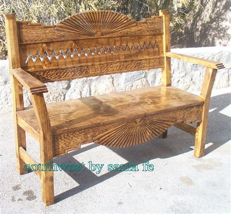 bench in latin spanish colonial carved bench furniture inspirations