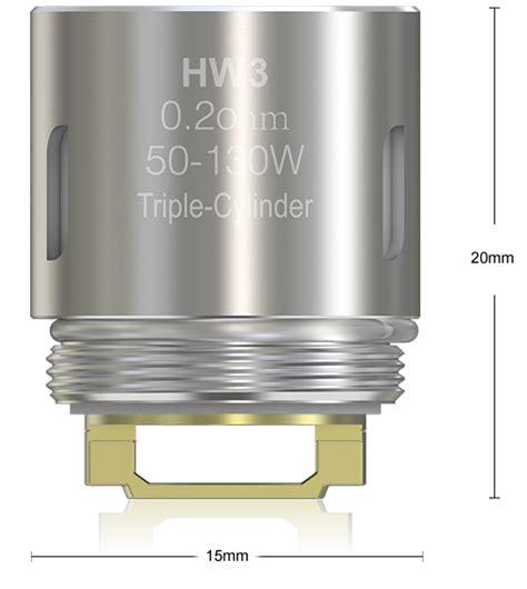Eleaf Hw3 0 2ohm Replacement Spare Parts ello mini eleaf hw3 0 2ohm coil masquevapor