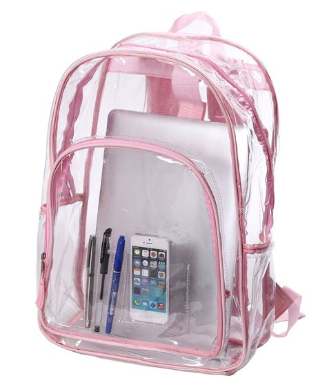 Childrens Duvet Covers Amazon Com Transparent Clear Bag See Thru Backpack