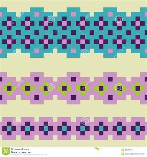 pixel pattern vector pixel pattern stock vector image 60843063