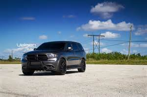 dodge durango on velgen wheels vmb5 satin black 22x10 5