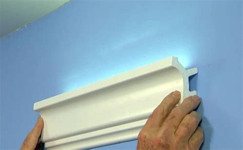 Inexpensive Crown Molding Easy Inexpensive Cove Lighting Uses Foam Crown Molding
