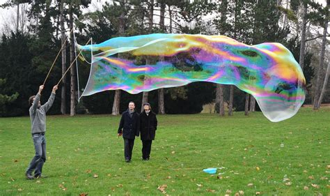 giant soap bubbles colossal