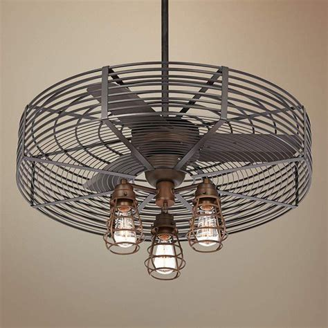 caged hugger ceiling fan ceiling awesome caged ceiling fan with light caged