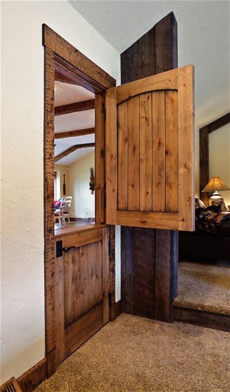 Rustic Dutch Door Interior Split Door