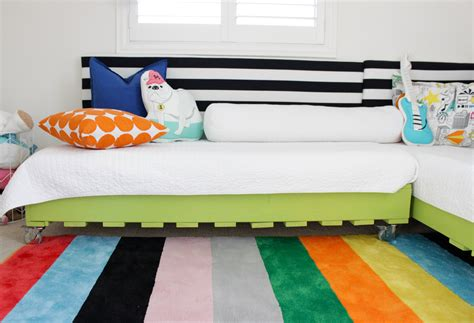 How To Make A Toddler Bed Out Of A Crib by Diy Pallet Bed Mini Makeover Project Nursery