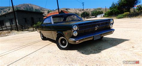 Ford Fairlane by 1966 Ford Fairlane 500 Add On Replace Gta5 Mods