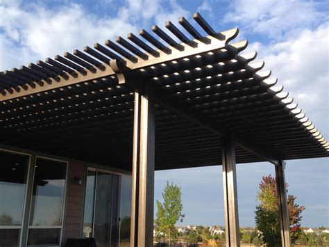 aluminium pergola aluminum pergolas fort collins co outrigger