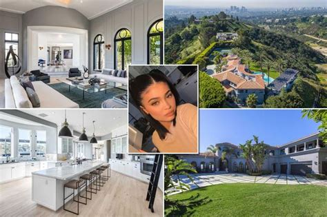 kylie jenners bedroom inside kylie jenner s beverly hills mansion that s just